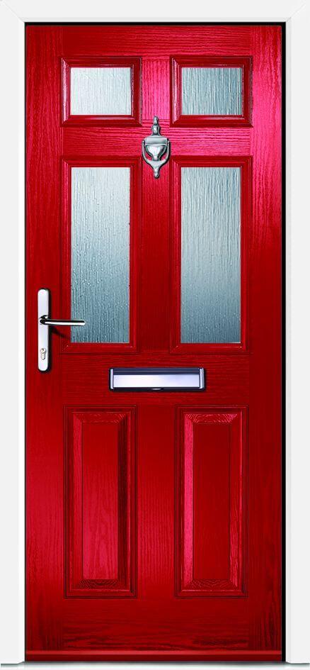 Carlton 4 Red Glazed