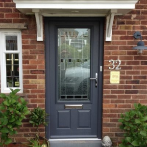 How much is a composite front door how much is a for Door 43 sheffield