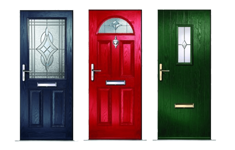 multiple composite doors